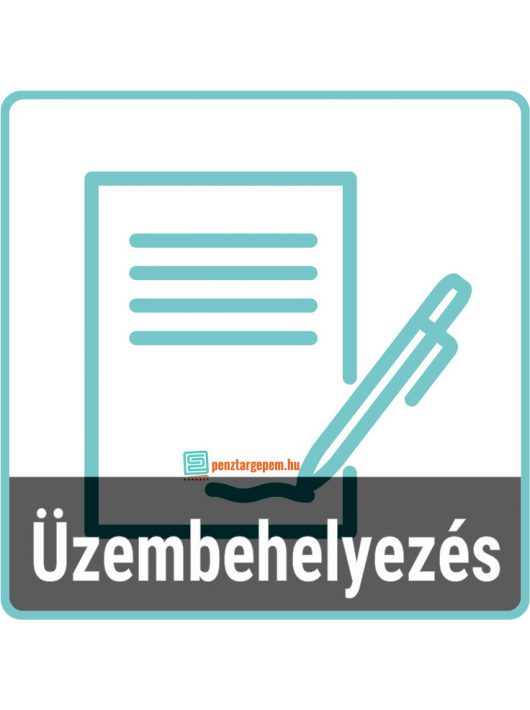 Üzembe helyezés és szerződéskötés (pénztárgép mellé KÖTELEZŐ)