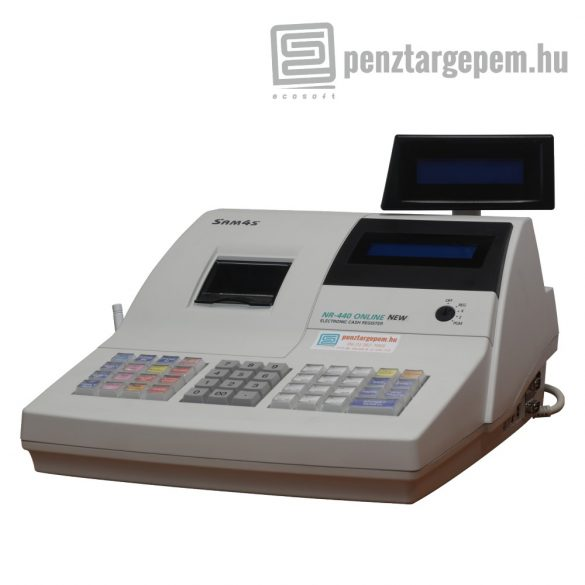 Használt SAM4S NR-440 online pénztárgép (Engedély száma: A155) GARANCIÁVAL