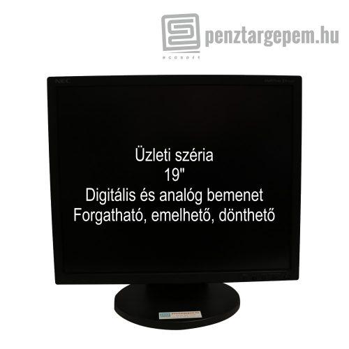 """19"""" Üzleti monitor 1 év garanciával (használt)"""