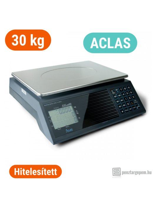 ACLAS PS1B 30 kg-os lapos mérleg (pénztárgéppel NEM összeköthető)