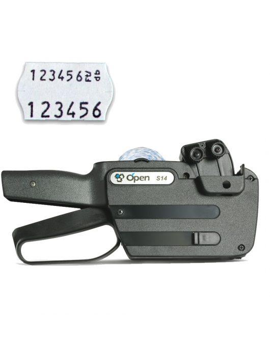 OPEN S14 árazógép (2 soros)