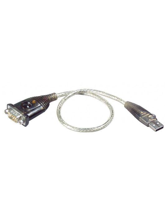 ATEN UC232A USB-RS232 átalakító kábel 0.35m