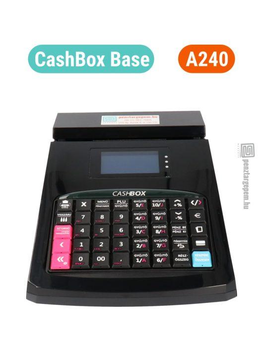 CASHBOX Base online pénztárgép FEKETE (Engedély száma: A240)