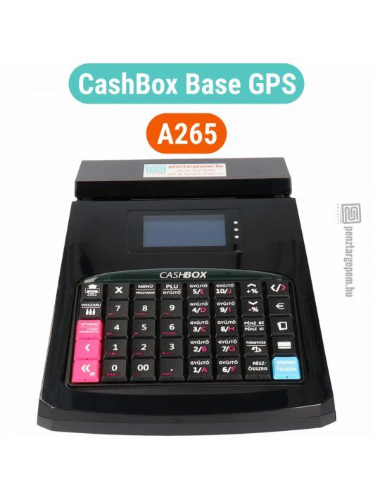 CASHBOX Base GPS online pénztárgép FEKETE (Engedély száma: A265)