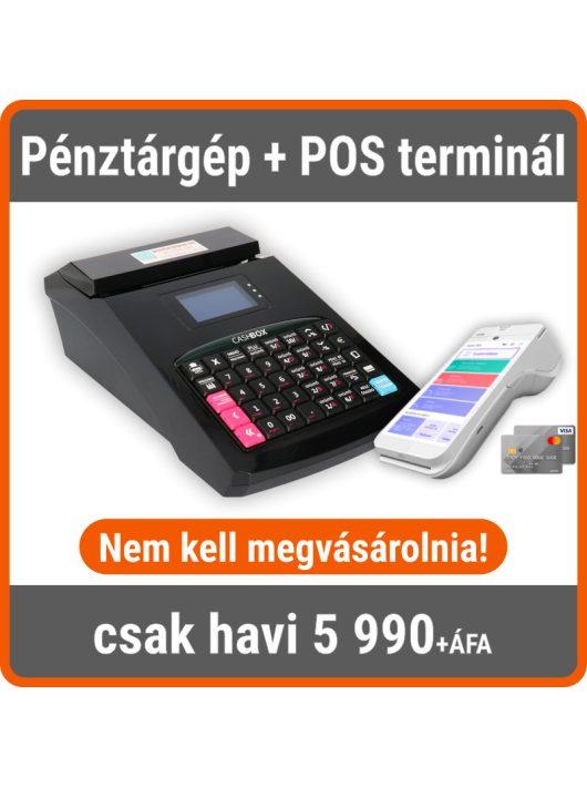 All In pénztárgép csomag - Pénztárgép + POS terminál + számlázó program