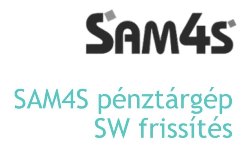 SAM4S pénztárgép család SW frissítés